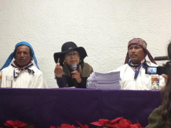 Amenazan de nuevo a la defensora de las tierras del pueblo Rarámuri