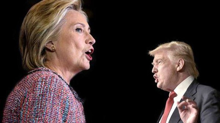 Trump publicó gif en Twitter donde agrede a Hillary Clinton