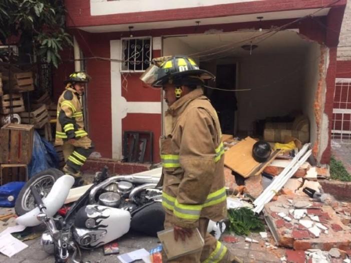 Explosión de tanque de gas en Tepito deja cuatro heridos