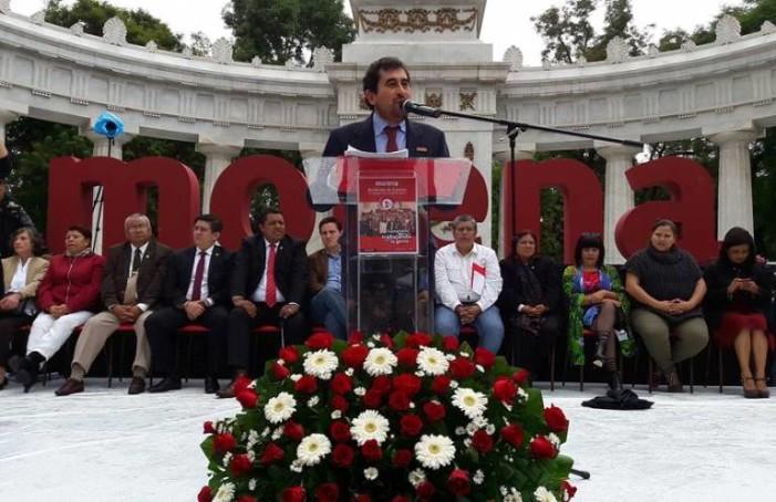 Asambleístas de Morena rinden informe de primer año de trabajo legislativo