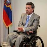 Por primera vez una persona con discapacidad sería presidente de Ecuador