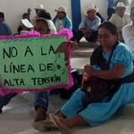 Comunidades indígenas frenan obra de CFE que beneficiaría megaproyectos