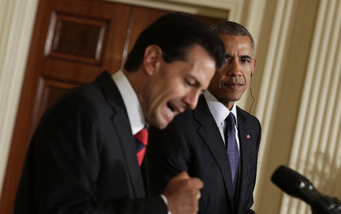 """""""Me equivoqué"""", disculpa de Peña Nieto a Obama por la visita de Trump."""