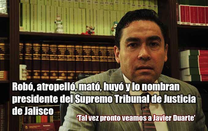 Asesinó 'por accidente', dijo polémico Magistrado de Jalisco y ya pidió licencia