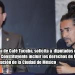 Ruben Albarrán pide garantizar derechos de la madre tierra en la Constitución