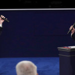 Clinton insiste en que Putin apoya a Trump en tercer debate