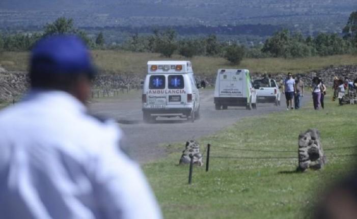 Por caida, muere turista alemán en Teotihuacan