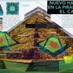 Descubren pequeña pirámide al interior de Kukulkán en Chichén Itzá