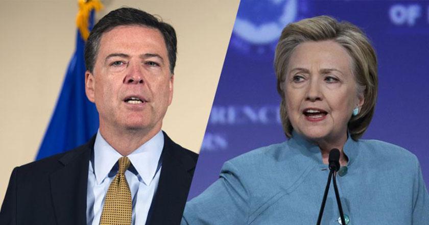 Despedirían después de elecciones a director del FBI James Comey que investigó a Hillary Clinton