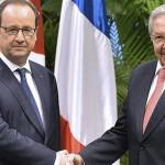 Francia pide a EU levantar el embargo a Cuba