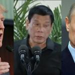 Presidente de Filipinas quiere ser amigo de Putin y Trump