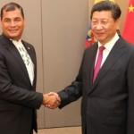 Presidente chino Xi Jinping, realiza visita en Ecuador