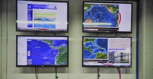 No hay riesgo de Tsunami: Alerta de Tsunamis