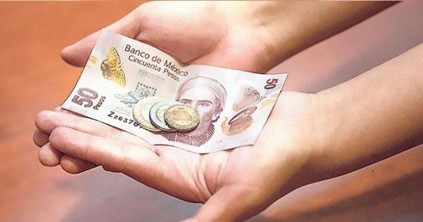 aumento al salario mínimo dinero economía pesos billetes