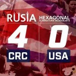 Costa Rica golea a Estados Unidos en futbol