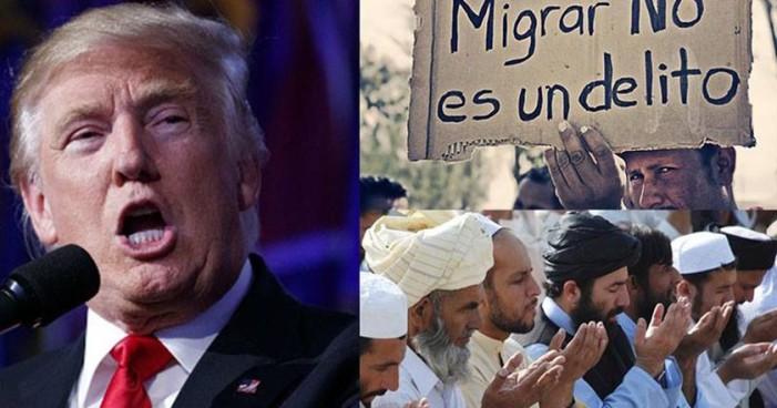 Suspenden ley de inmigración de Donald Trump