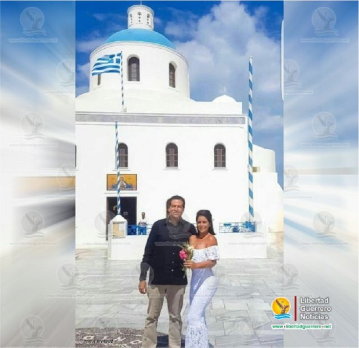 Diputado de Guerrero celebra boda de lujo en isla griega