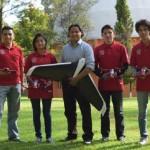 Mexicanos ganan segundo lugar en concurso internacional de drones