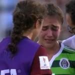 Consuela a su gemela tras eliminarla del mundial Sub 20 femenil (VIDEO)