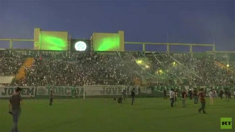 Avión del club brasileño no tenía combustible cuando se estrelló — Chapecoense