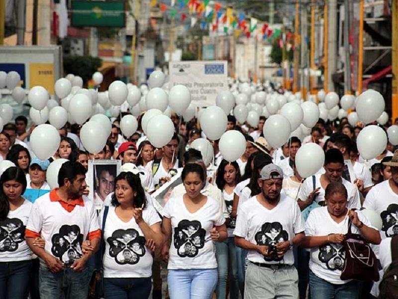 marcha estudiantes asesinados