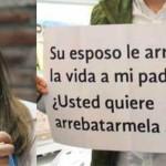 Su esposo le quitó la vida a mi padre ¿Usted quiere quitármela a mí?: Increpan a Margarita