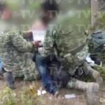 Soldados salvan la vida de presunto sicario que los atacó