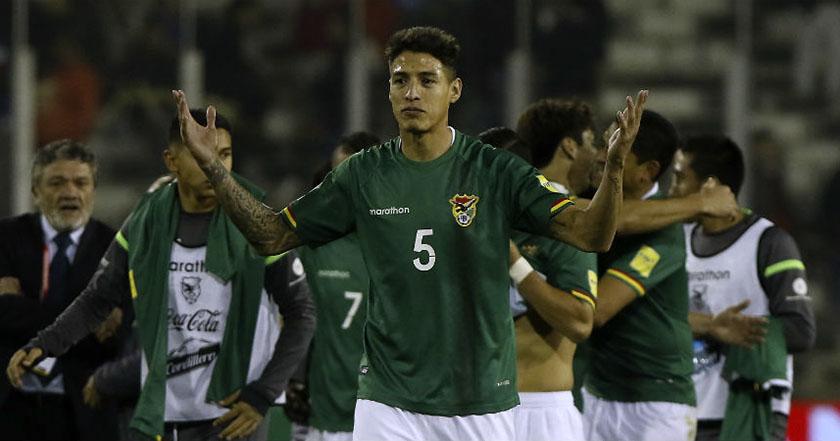 nelson cabrera FIFA aplica doble derrota a Bolivia por usar jugador inhabilitado