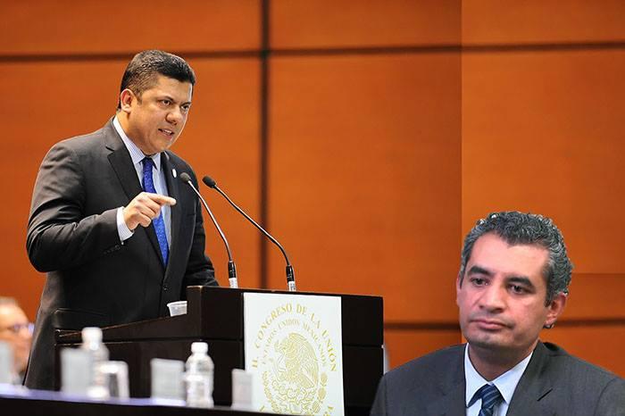 Ochoa Reza es un mentiroso: Presidente de la Cámara de Diputados