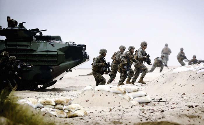 Conflicto nuclear de separarse los Estados Unidos de la OTAN