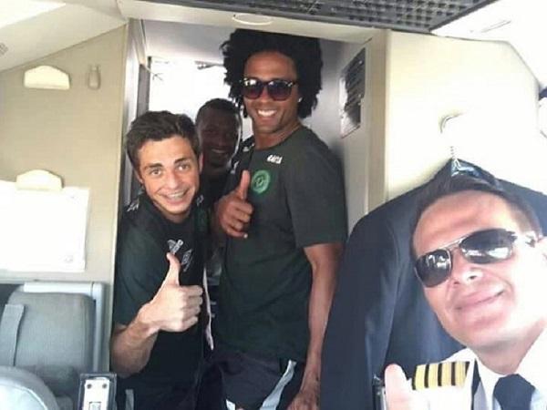 Intrigante publicación de FB del piloto del avión que trasportaba al Chapecoense
