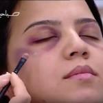 El día contra el maltrato a la mujer, televisión marroquí explica cómo tapar los golpes