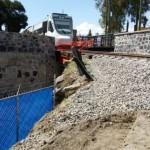 Tren turístico de Moreno Valle mal construido, afecta ruinas y a la comunidad