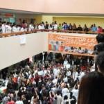 Trabajadores de la salud paran labores en hospitales de todo Veracruz