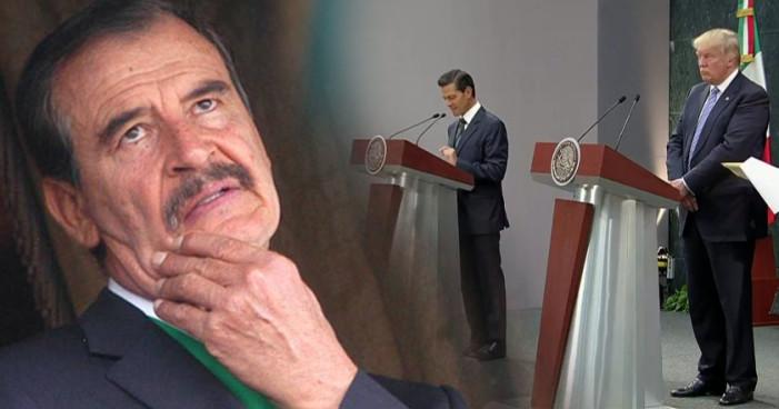 Vicente Fox teme perder su pensión y vuelve atacar a López Obrador
