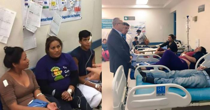 134 intoxicados por exposición a gas tóxico en Sonora