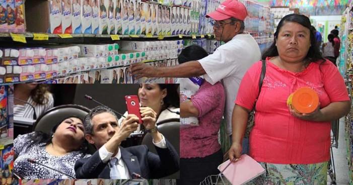 7 pesos al salario mínimo; 718 mil pesos de bono a cada legislador