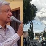 AMLO expresa sus condolencias a víctimas de Tultepec