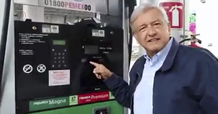 AMLO recuerda gasolinazos pasados: 'Peña esperó a que pasaran las elecciones'