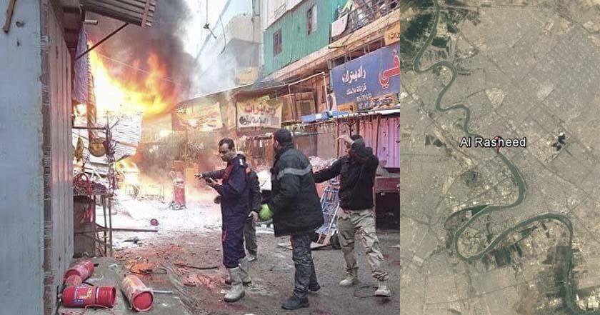 Deja 28 muertos ataque suicida en mercado de Bagdad