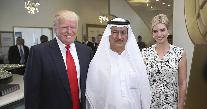 Donald Trump dice adiós a Arabia Saudita