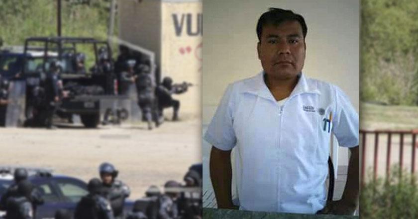Enfermero que salvó a 41 en Nochixtlán fue preso político