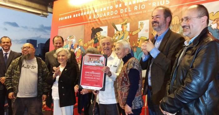 Rius gana primer Premio Gabriel Vargas, revela que tiene cáncer