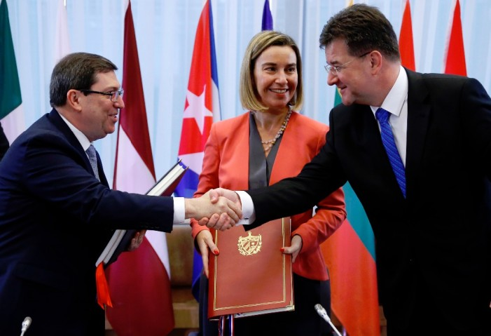 Cuba y Unión Europea firman 'Acuerdo de Diálogo Político y de Cooperación'