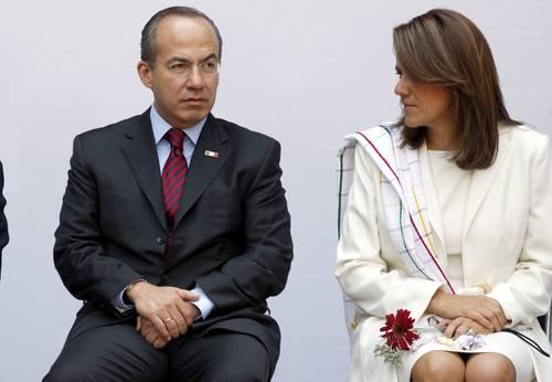 Calderón se une a la gira de Margarita Zavala para apoyarla