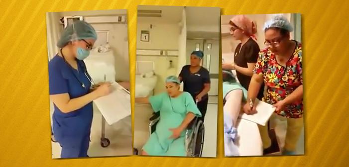 """Levantan acta contra personal que hizo el """"Mannequin Challenge"""" en sala de urgencias"""