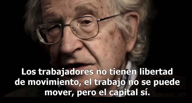 Noam Chomsky: El llamado 'sueño americano' ha muerto