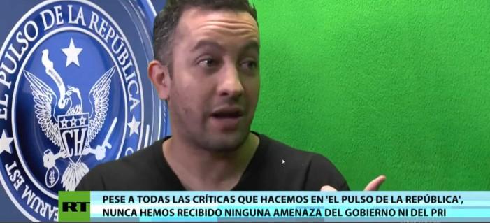Con Peña Nieto hay 'libertad completa y absoluta de expresión': Chumel Torres