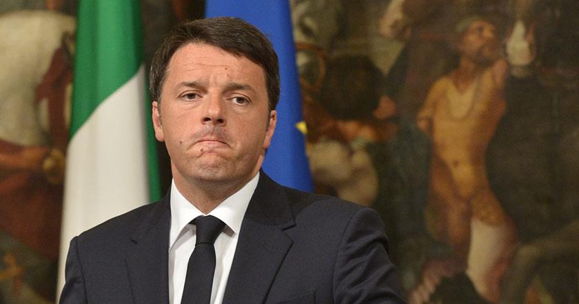 dimite primer ministro de italia matteo renzi