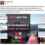 Eruviel Ávila invita a la quinceañera Rubí a Valle de Bravo y le llueven criticas